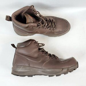 Nike ACG Manoa Mens Brown Leather Hiking Boots 8